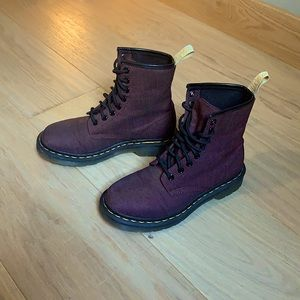 ❤️🔥 dr. / doc marten's vegan castel cherry boot